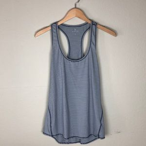 Athleta Striped Tank Top